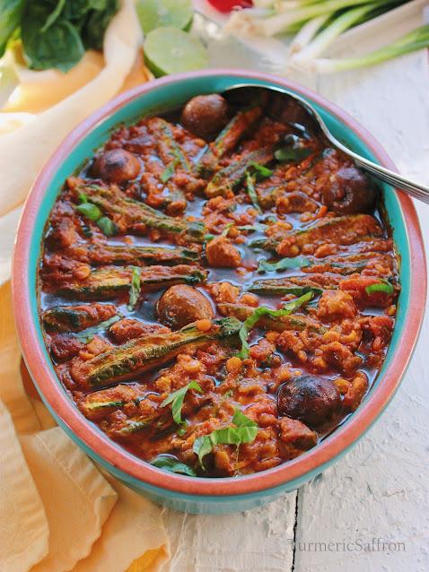Khoresh Gheymeh with Zucchini