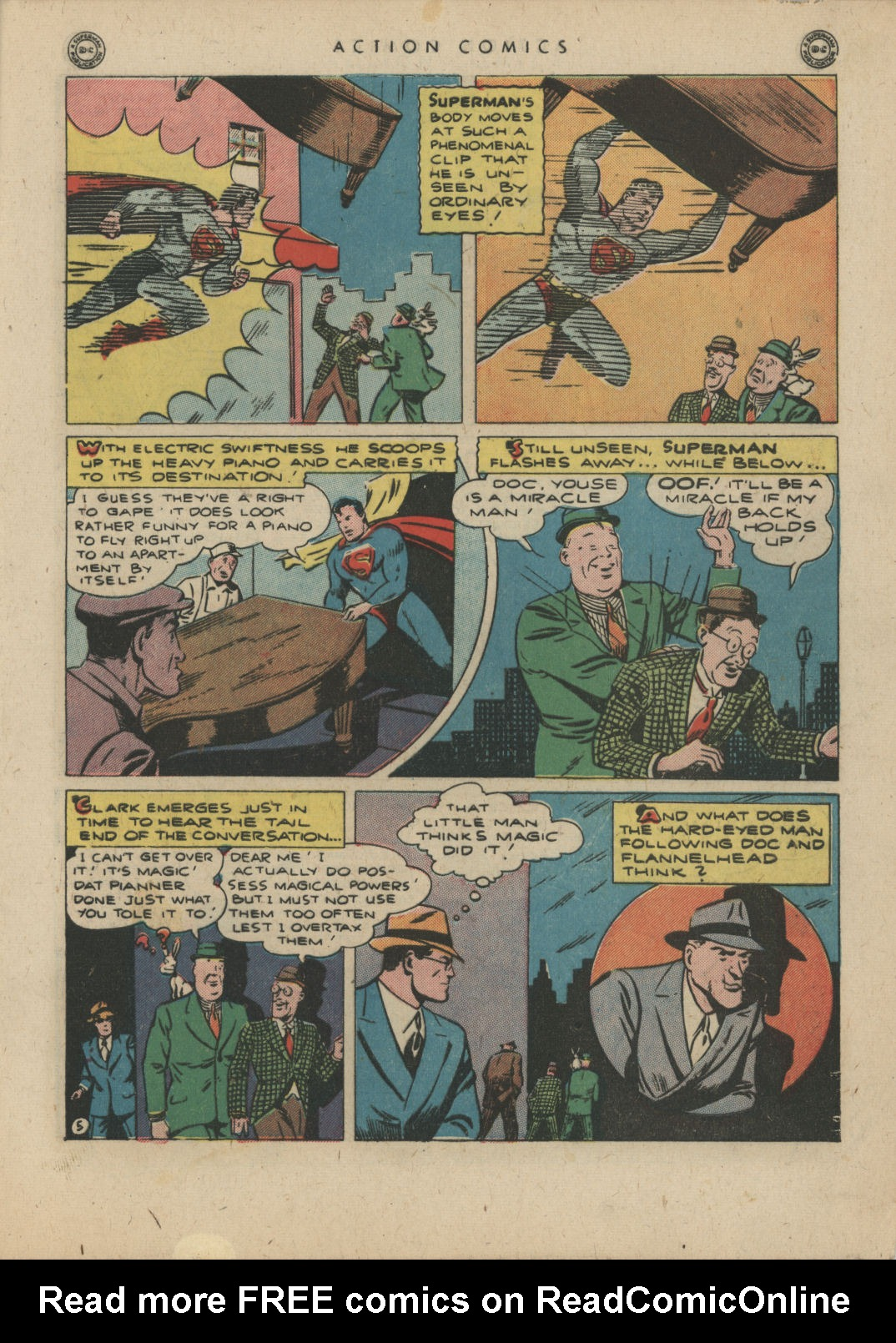 Read online Action Comics (1938) comic -  Issue #83 - 7