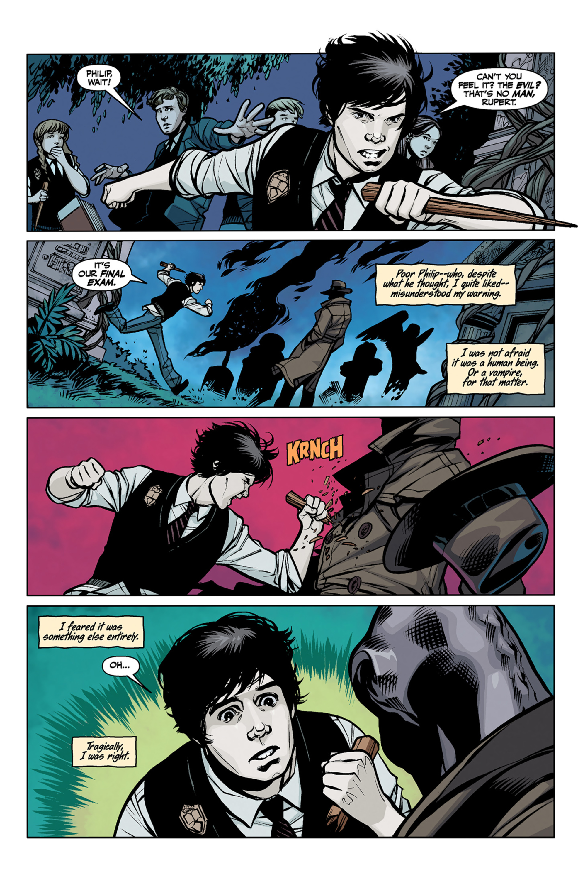 Read online Angel and Faith comic -  Issue #6 - 10