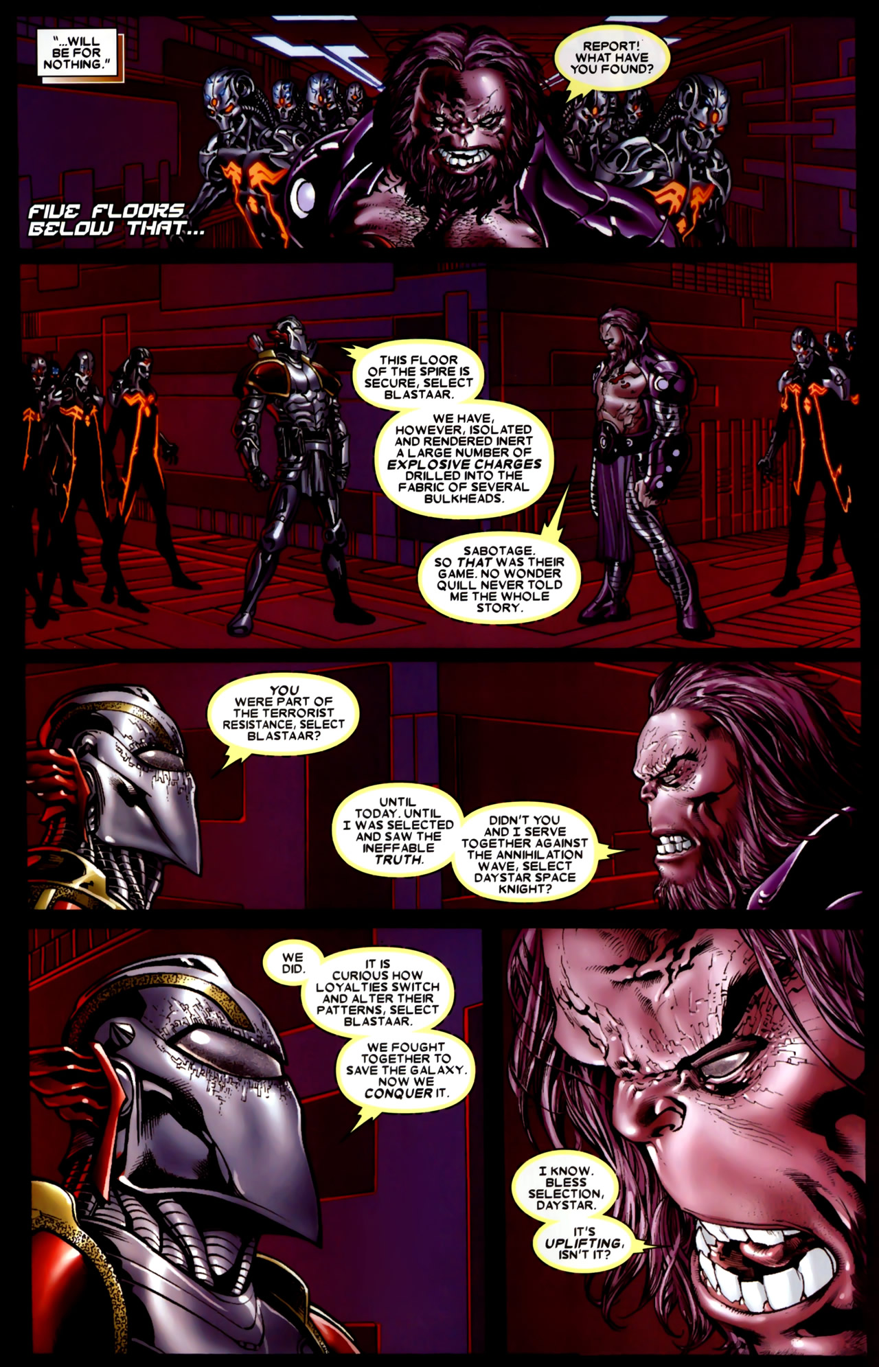 Read online Annihilation: Conquest comic -  Issue #4 - 6