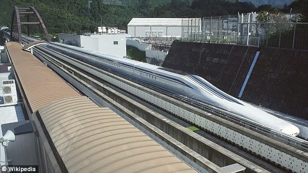 Japanski voz Maglev probio rekord od 603 km na sat.