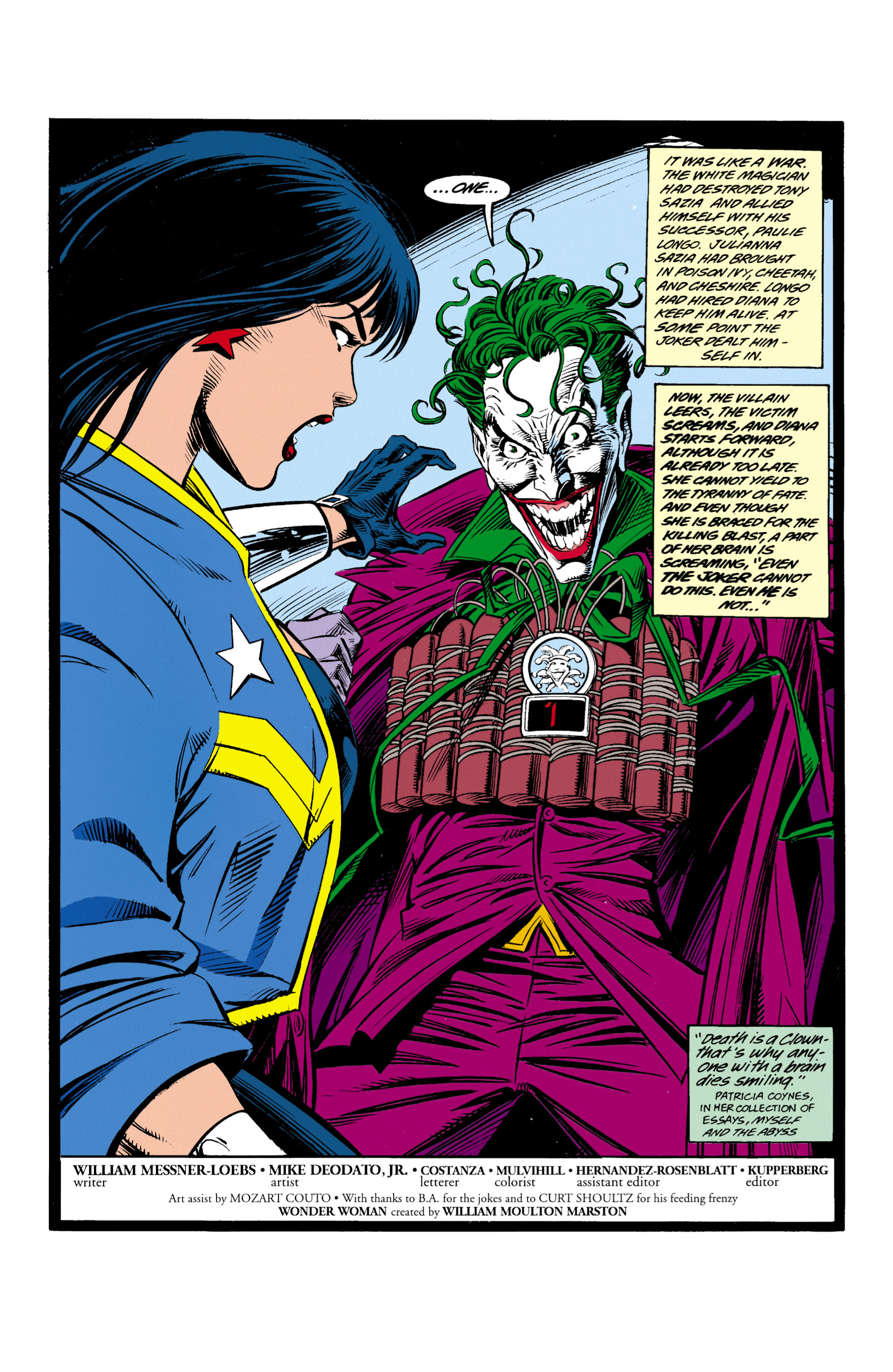 Read online Wonder Woman (1987) comic -  Issue #97 - 2