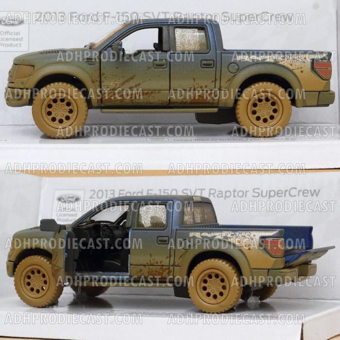 Miniatur Mobil Ford F-150 SVT Raptor Dirt