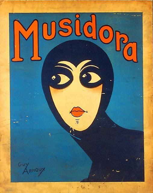 Musidora in Les Vampires - Poster 1915