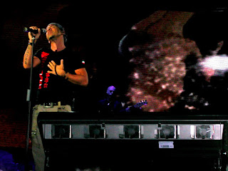Eros Ramazzotti on stage in Alicante, Spain