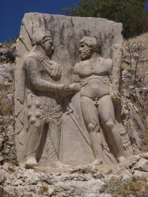 Κομμαγηνή, Αντίοχος Α' Θεός (69-36 π.Χ.) και Ηρακλής