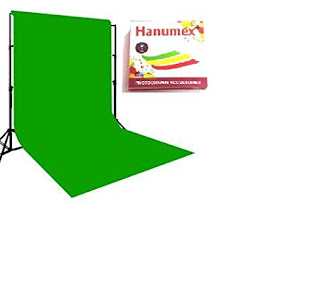 Green BackDrop Background 8x12 Ft for Studio Backdrop - Camera Accessory