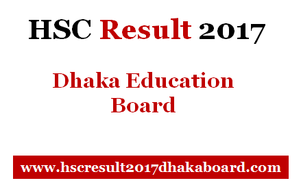 Dhaka Board HSC Result 2017
