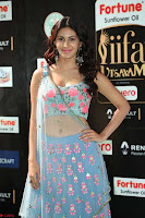 Amyra Dastur in Flower Print Choli Transparent Chunni at IIFA Utsavam Awards028.JPG