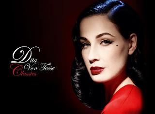 Dita Von Teese, a Pin-up Rainha do Burlesco!!!
