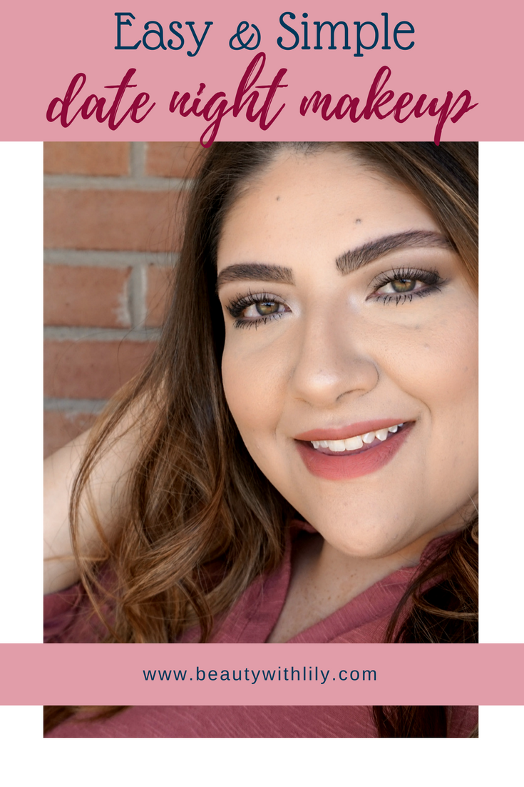 Easy and Simple Date Night Makeup Look | beautywithlily.com