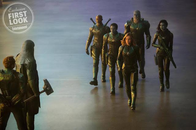 Skrulls Capitã Marvel Primeiras imagens 10