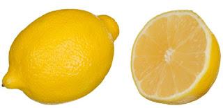 Lemon dapat mengangkat sel kulit mati