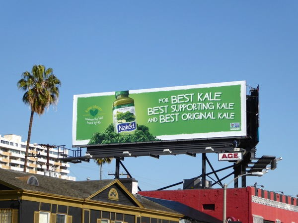 For best kale Naked Juice billboard