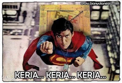 Pekerjaan sampingan superman