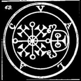 Valac, Volac, Valak, Sigilo, Goetia, Daemon, Demonologia, Ocultismo