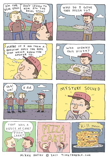 Time Trabble: Pizza Cake
