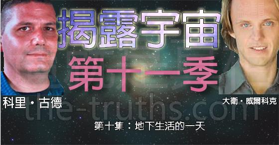 揭露宇宙:第十一季第十集:地下生活的一天