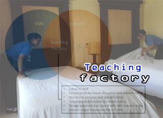 Ternyata, teaching factory menjadi konsep pembelajaran dalam keadaan yang sesungguhnya
