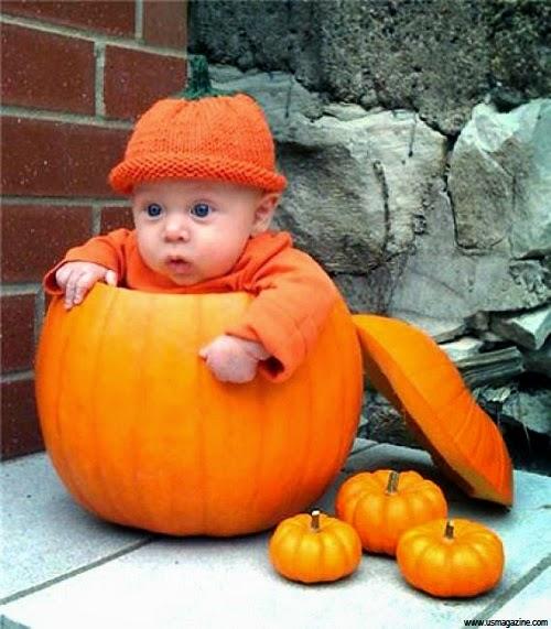 Photo bébé trop petit déguisement Halloween