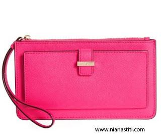 model dompet wanita wristlet wallet