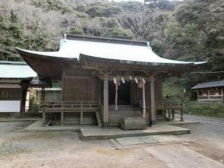 館山:洲崎神社拝殿