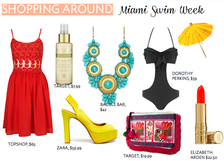 Shopping Around: Miami Swim Week - The Mama NotesThe Mama Notes