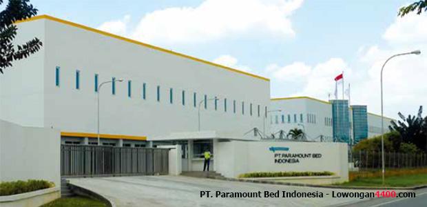 Lowongan Kerja PT. Paramount Bed Indonesia