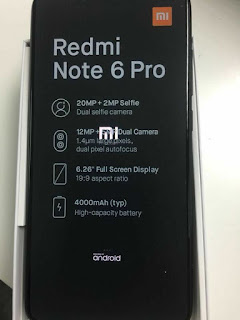 Xiaomi Redmi Note 6 Pro Leaked - Features, Specs