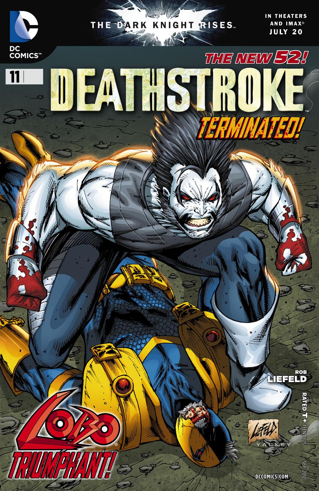 Deathstroke (2011) 11 Page 1