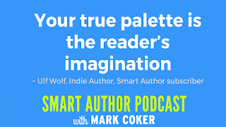 "image reads:  ""Your true pallette is the reader's imagination"""