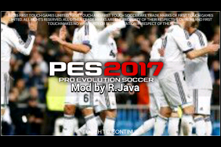 FTS Mod PES 2017 by Regional Java Apk + Data