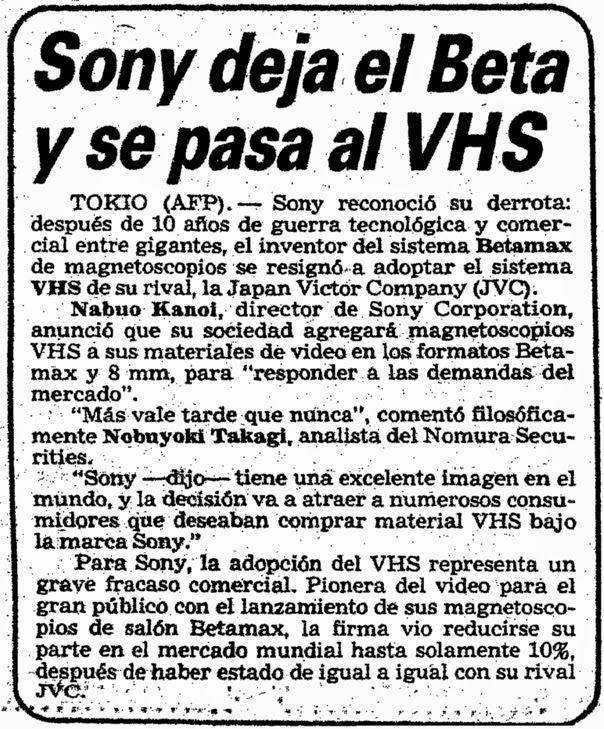 sony vs betamax