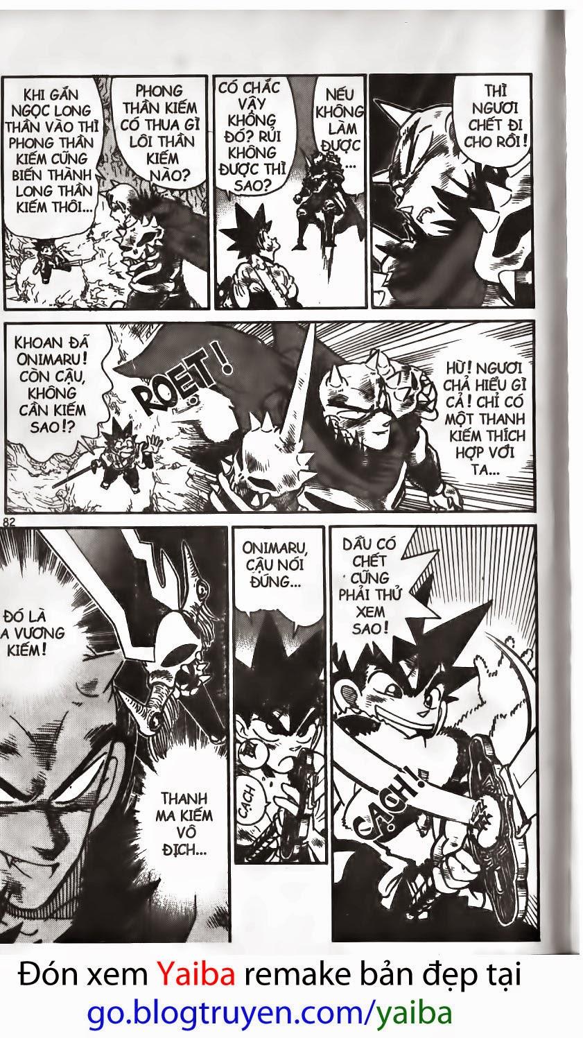 Yaiba chap 159 trang 14