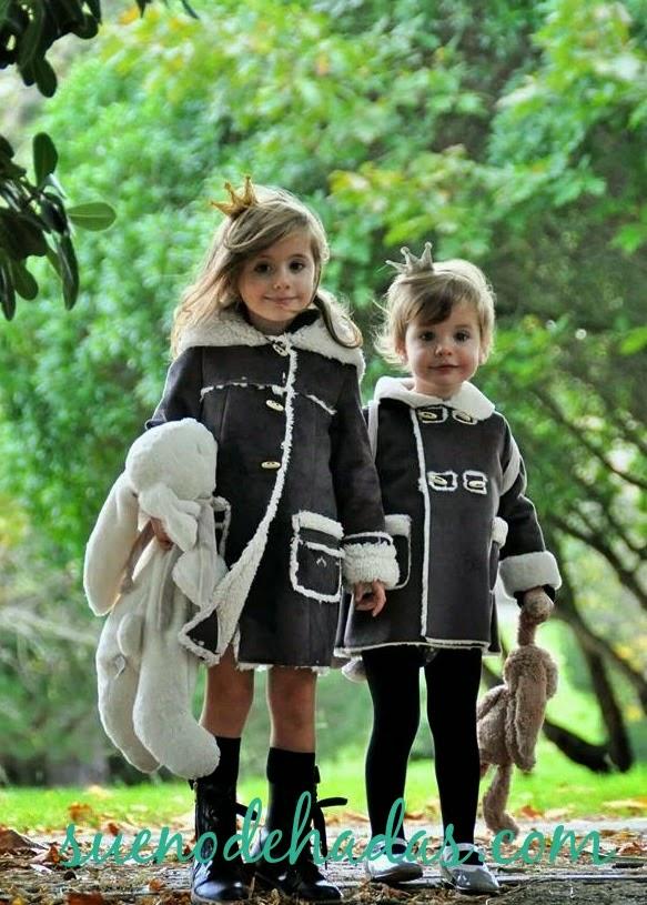 Abrigos niña - pelliza doble faz Nanos