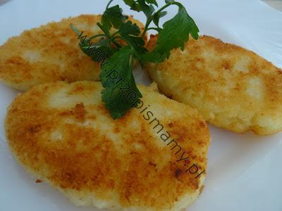 Kotlety z ziemniaków i sera