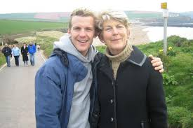 James Ashwell with Mum Fay