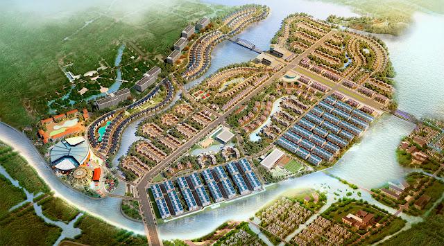 Phối cảnh khu đô thị Cao Xanh, Hà Khánh