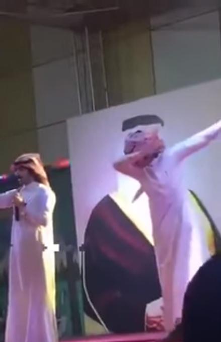 Saudi Arabian Singer arrested for dabbing at Music Concert
