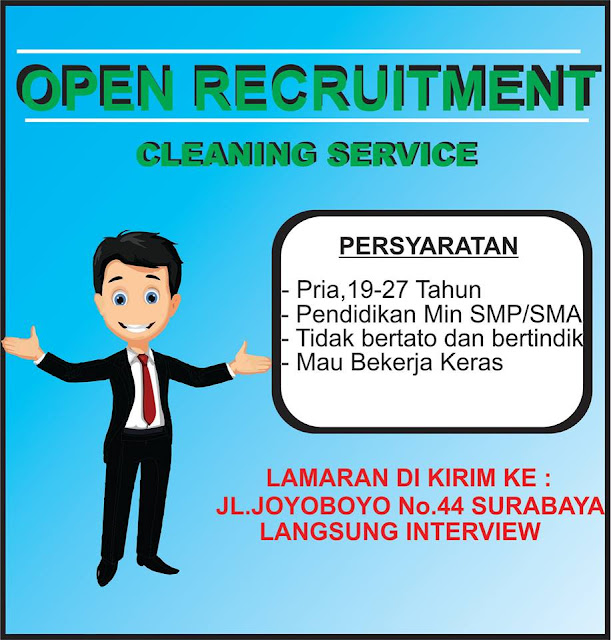 Lowongan Kerja Cleaning Service Surabaya