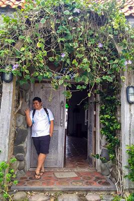 Fitz Balba in Mt. Carmen Chapel, Batanes