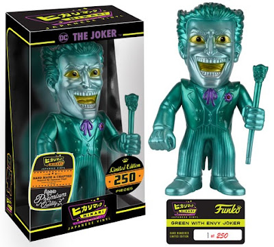 "The Joker ""Envy"" DC Comics Hikari Sofubi Vinyl Figure by Funko"