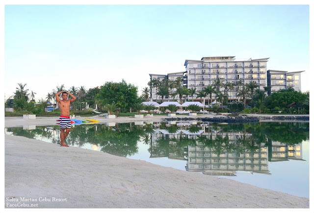 FaceCebu Blogger Mark Monta at Solea Mactan Resort Cebu