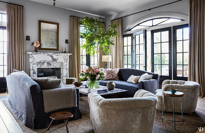 Mix And Chic Jessica Albas Gorgeous California Home