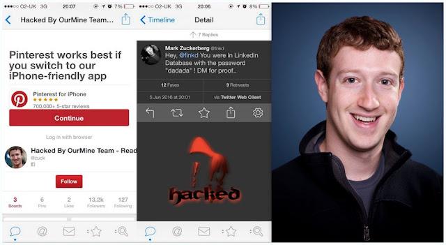 Mark Zuckerberg tem perfil online hackeado pela segunda vez em um ano
