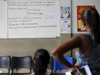 População que não trabalha nem procura emprego chega a 10,7%