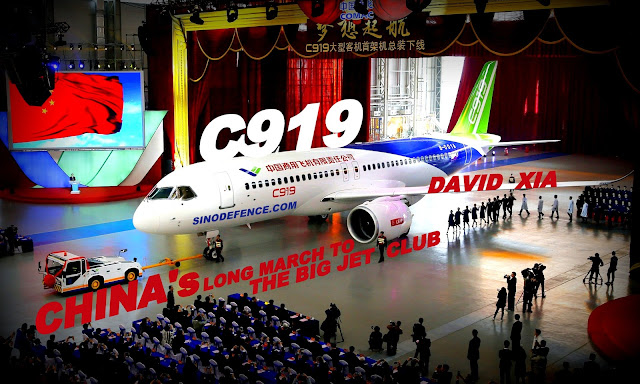 FEATURED | C919 : China's Long March to the 'Big Jet Club' by David Xia