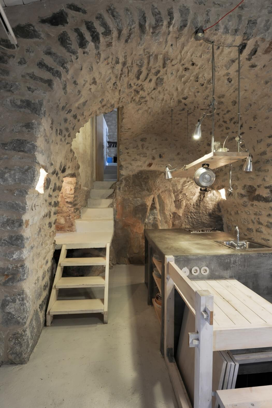 Decordemon Traditional Tower House In Mani Greece By Z Level Architecture