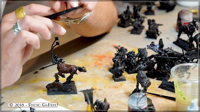 Peinture de Figurine