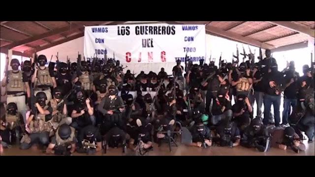 """""""GRUPO DELICTIVO DE LOS VIAGRAS ATACA AL C.J.N.G. EN SUS TERRITORIOS"""""""